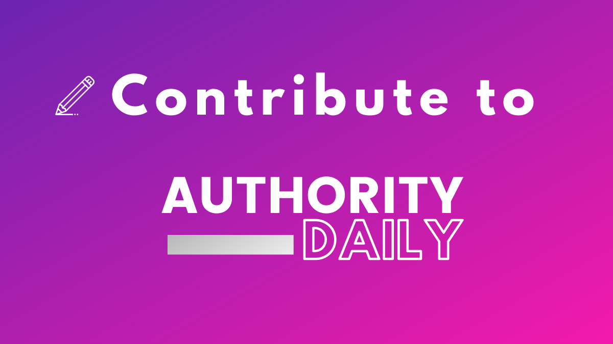 Contribute to Authority Daily 1